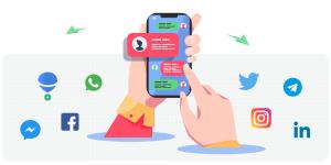 شبکه اجتماعی و پیام رسان بالونت